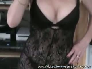 Melanie s intense 수탉 사랑