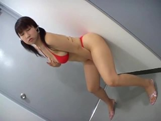 Big titted asian babe masturbating in a hot solo video