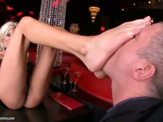Puma Swede in hot foot fetish action