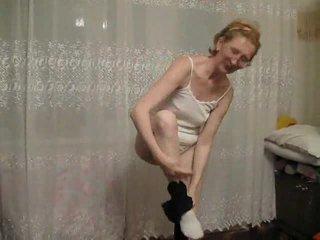 striptiz, büyükanne, olgun amatör