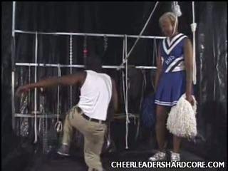 Swarthy Cheerleader Aliya Dong Crammed