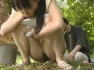 Japoneze vajzë fucked jashtë