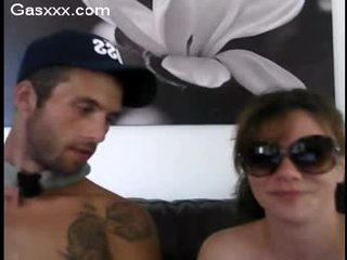 Threesome webcam party