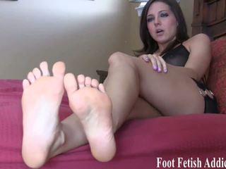 pėdų fetišas, femdom, hd porno