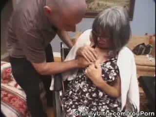 Perempuan tua places bahwa kontol di dia mulut