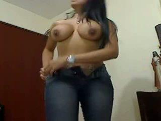 Sexy i madh boobed i madh bythë gf teasing