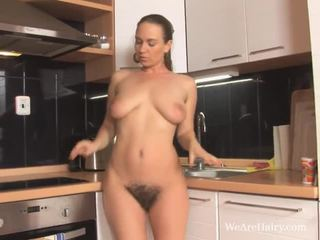 striptease, brune, capezzoli
