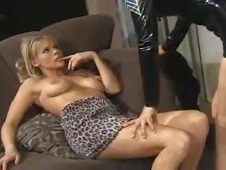 Dreckig Gespräch Strapon Lesbisch Strapon Lesbian