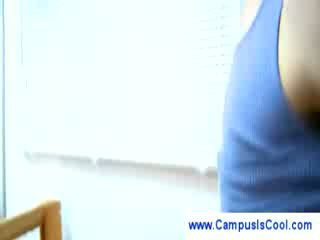 College girls give nailing instructions