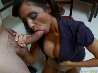 Lessons Of Psychology With Dirty Insatiable Brunette