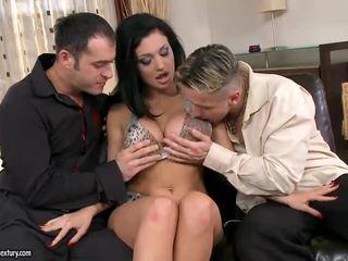 seks tegar, penembusan double