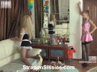 סקס הארדקור, שליטה נשית כל, לצפות סטראפ חופשי