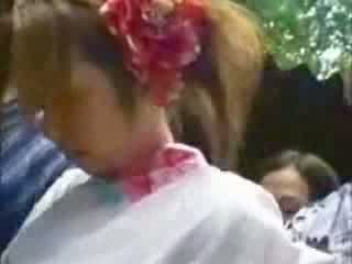 Japanese Grope and Fuck In Public Video
