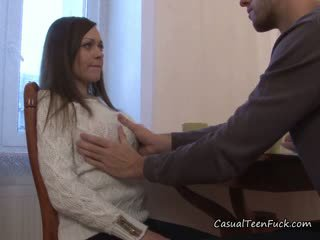 Teen Hottie Gets Molested By Neighbor And Loves It