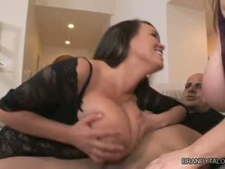 Brandy Taylor And Maggie Green Fuck On Busty Wobblers