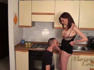 Mariana cordoba kuum sisse the köögis