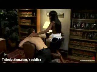 Black Trans Hooker Pokes A Guy Butt