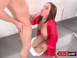 Abby ข้าม เซ็กส์หมู่ 3 คน ด้วย เธอ bf ขั้นตอน แม่