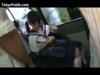 Nhật bản trường học babes được cumshots công khai