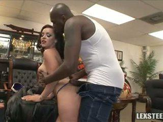 Lex steele ja liza del sierra piim sacks mängima sisse the kontoris