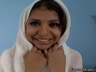 Φυσικός αιγυπτιακό κορίτσι gets αυτήν μουνί