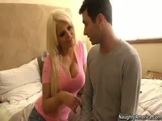 amusement gros seins vérifier, tout pipe, vous blond voir