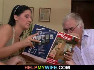 Hubby calls yang guy kepada fuck beliau isteri