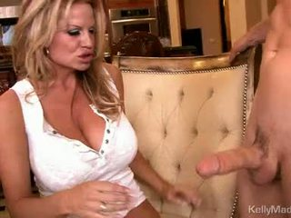 Milf kelly madison takes en fleshy pipe opp soaked slot