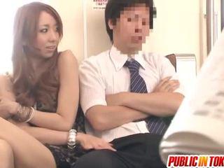ιαπωνικά, δημόσιο σεξ, milf sex