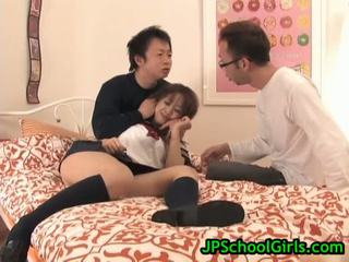 Warga asia gadis sekolah virgin faraj