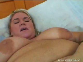 Blonde Bbw Lesbian Housewife Bangs Neighbor Chick