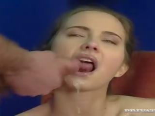 briunetė, deepthroat, dvigubai skverbtis