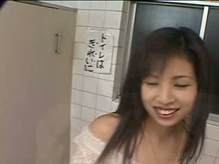 Asian bj with delicate doll