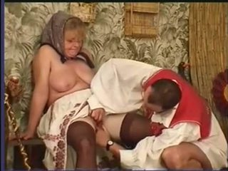 Hairy Granny Fucked In Ass