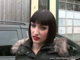 Berpayu dara besar warga belanda kanak-kanak perempuan lapar untuk seks