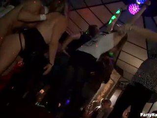 sucking cock, group sex, club