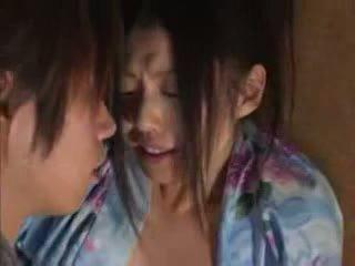 Japonesa família (brother e sister) sexo part02