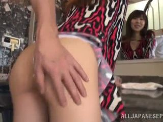 Upskirt View Onto Meisa Chibana Is Only The Beginning Of This Sex Vid