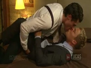 BuSinessmen In Suits Ravage Each Other