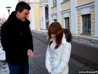 Pickup ends med en hot sex
