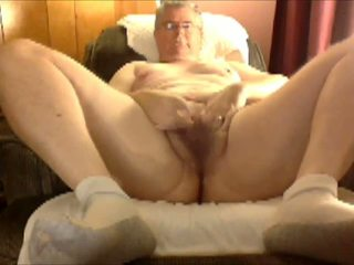big, white, chubby