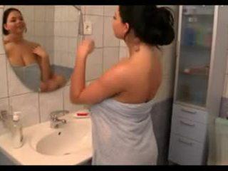 tits, big boobs, showers