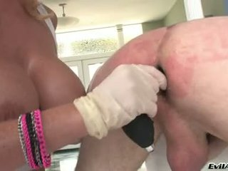 Sophie Dee Drill The Ass Of Lewd Guy By Her Dildo