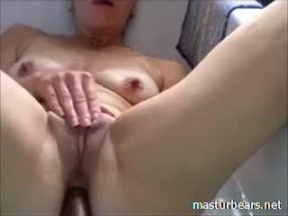 Ann 51 Years Belgium Mom Cumming In Bath