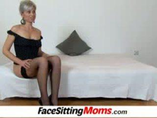 Beate A Hot Legs Mom Boy Facesitting A...