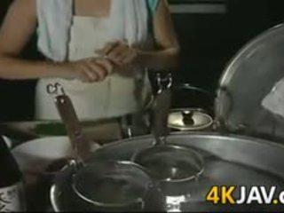 日本の, 成熟した, ハードコア