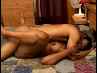 Ebony oma banged hard