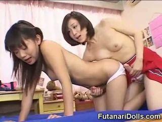 japanese, liten, futanari