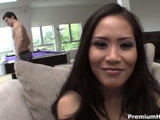 التايلاندية وقحة jessica bangkok في عمل