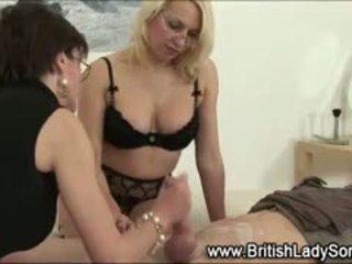 británico usted, corrida diversión, femdom